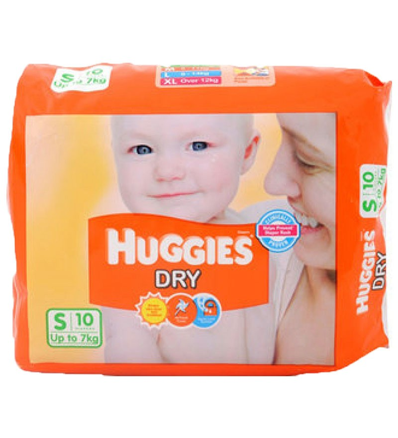 714b497a7 HUGGIES DRY DIAPERS S(7kg)10PC - ORDER Online GROCERY Home Delivery ...