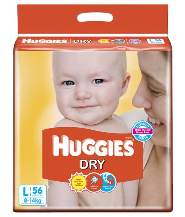 d861afdfb HUGGIES DRY DIAPERS L-8-14kg 56 PICE - ORDER Online GROCERY Home ...